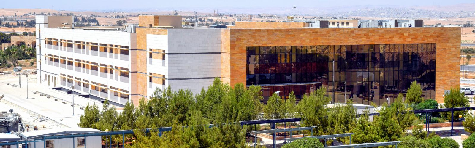 Desalination plant at the Hashemite University