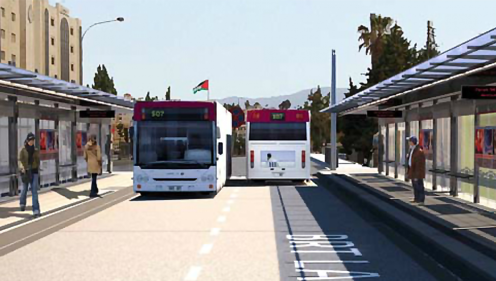 Bus Rapid Transit (BRT) between Amman and Zarqa- Package (1)