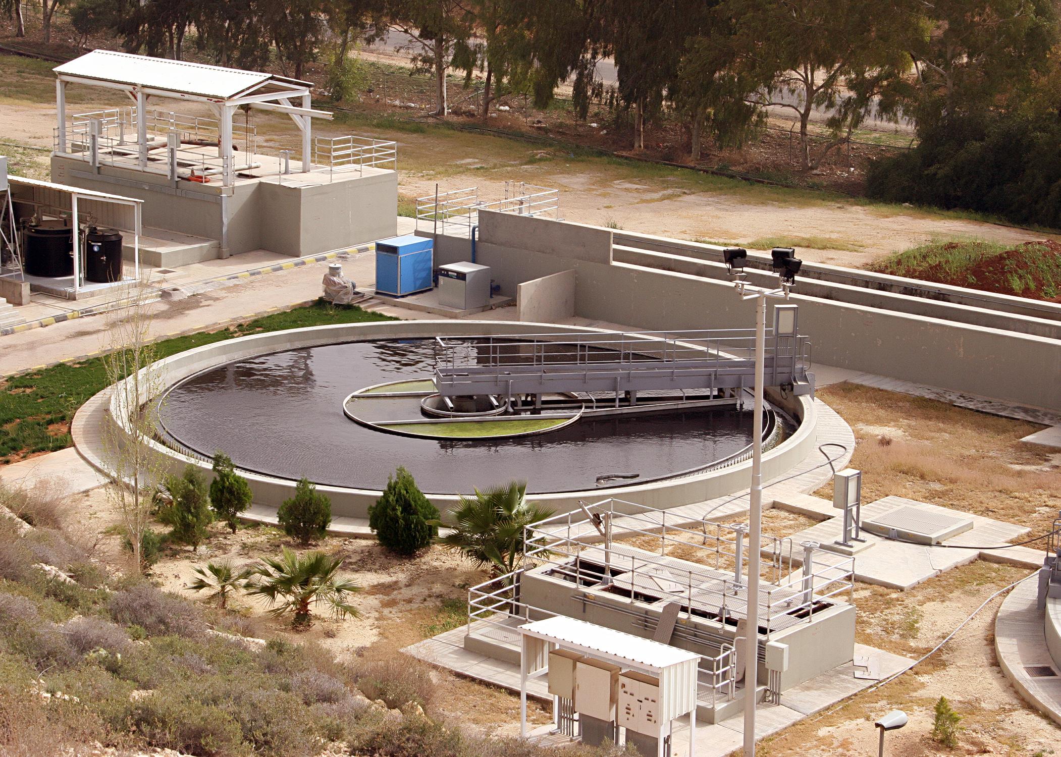 Baqa'a Sewage Treatment Plant