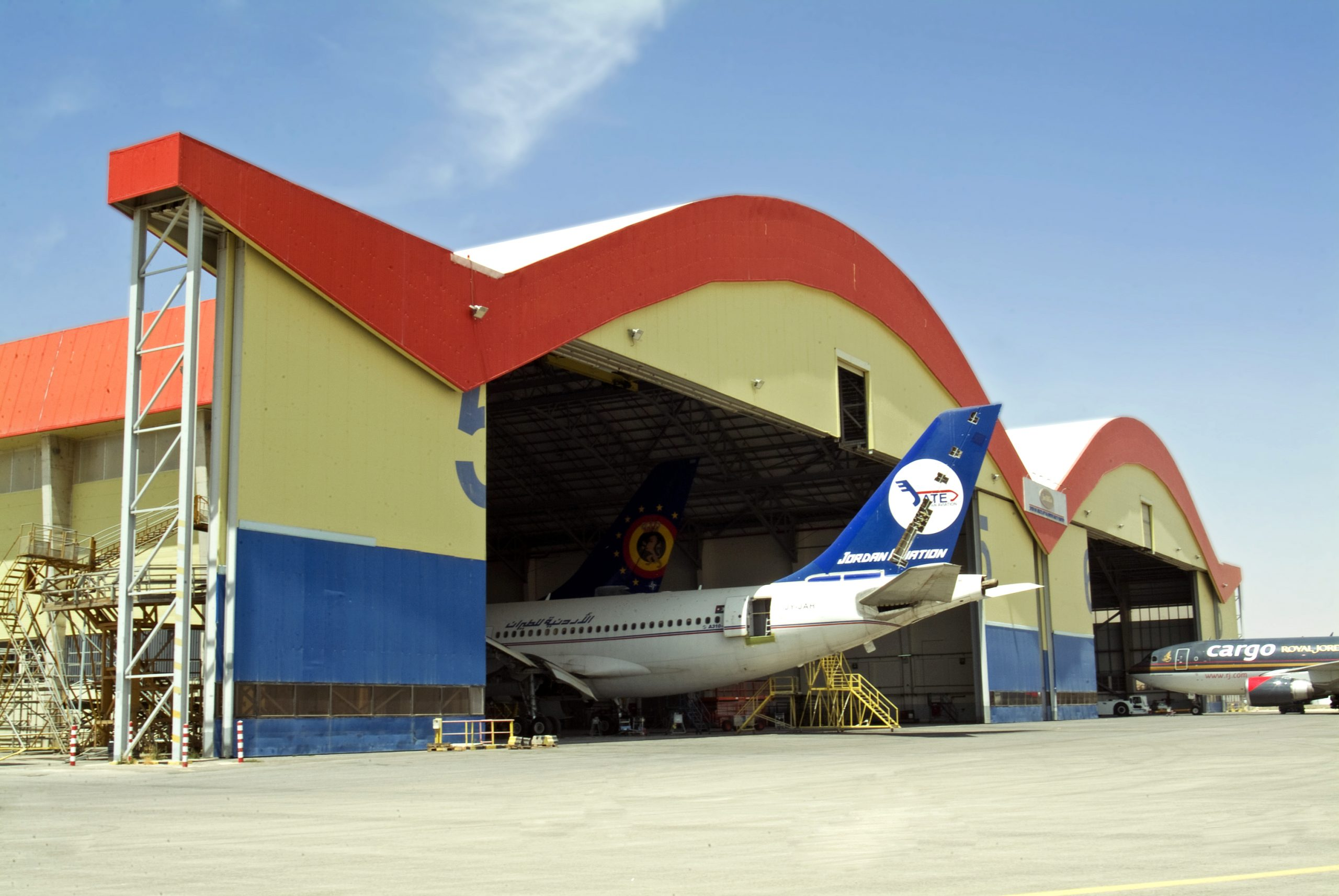Jordan Aircraft Maintenance Hanger