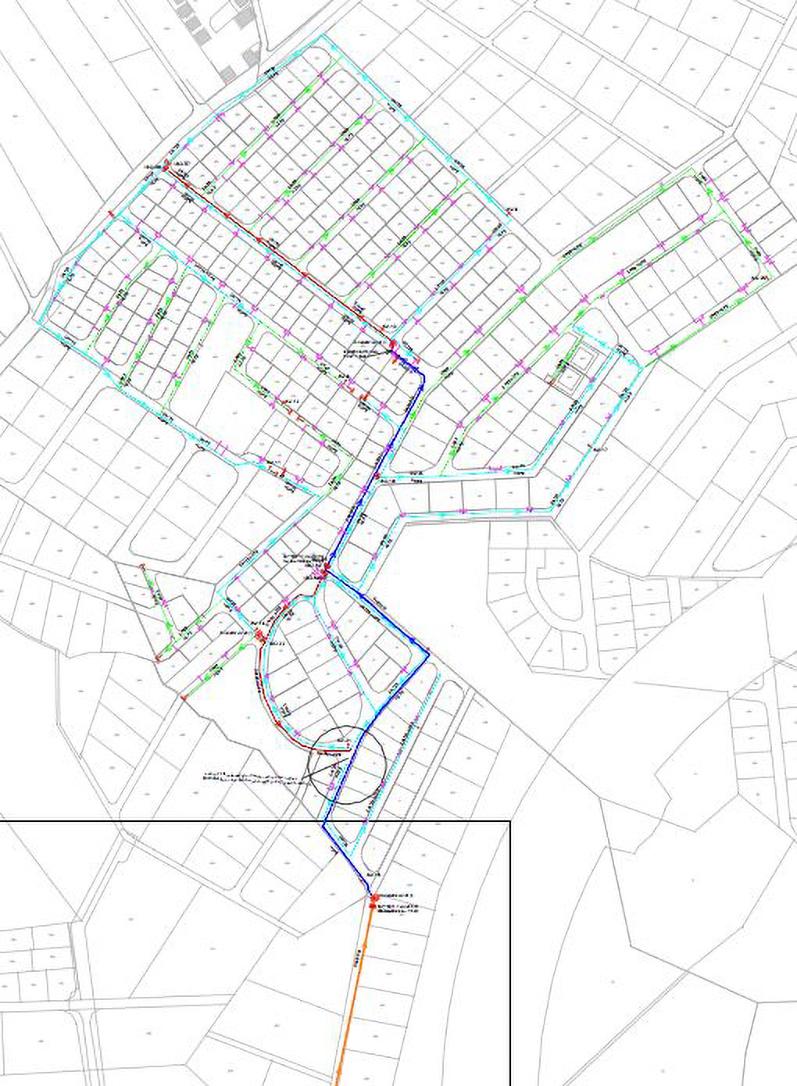 Water & Wastewater Network in Moubis  – Omariya