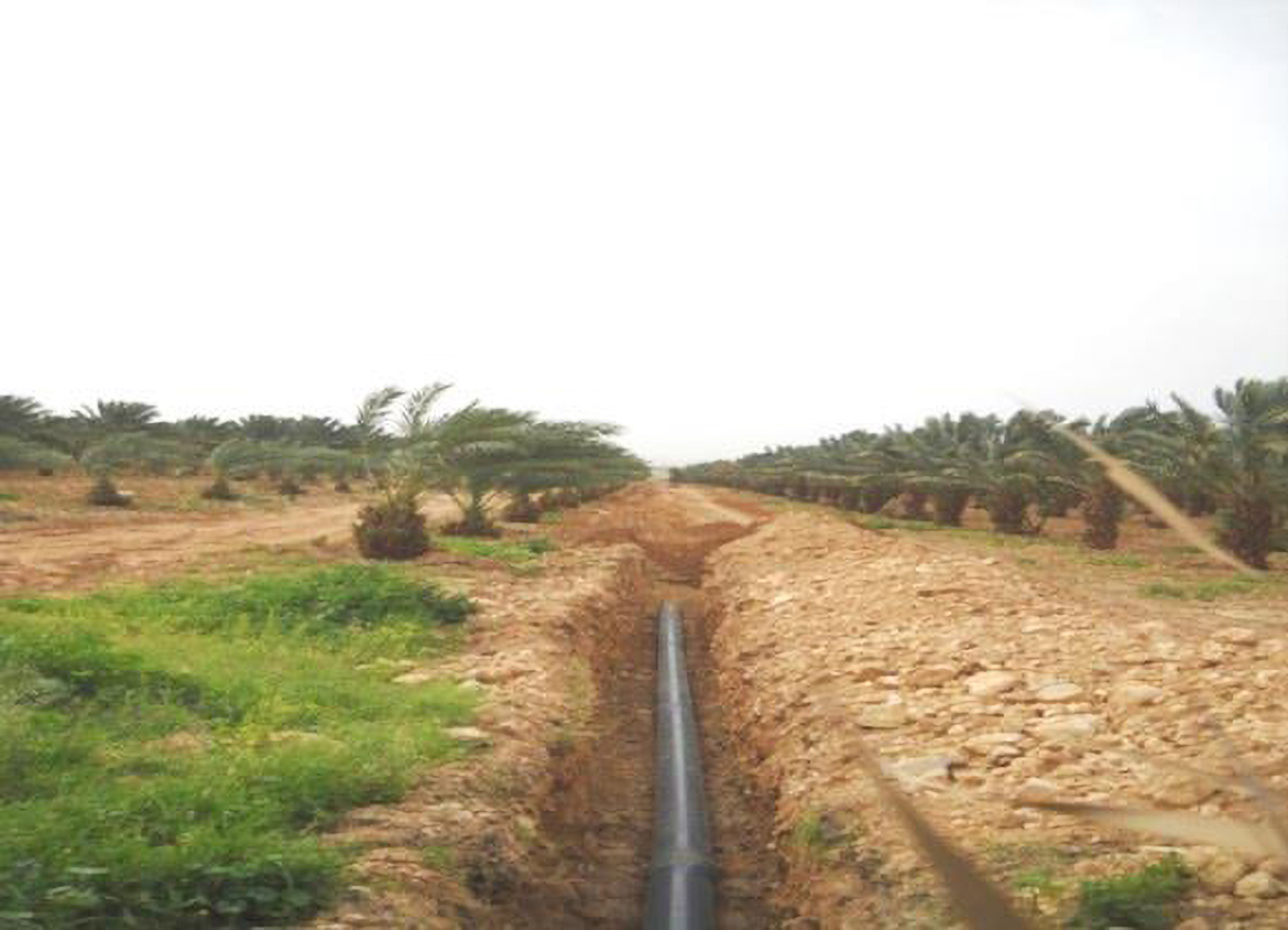 Zarqa Triangle Irrigation Network