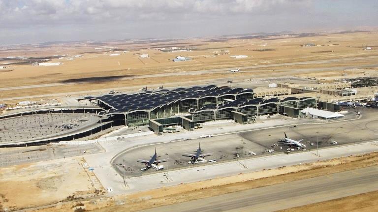 Queen Alia International Airport Cargo Road