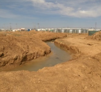 Storm Water Drainage Network at Za'tari Refugee Camp