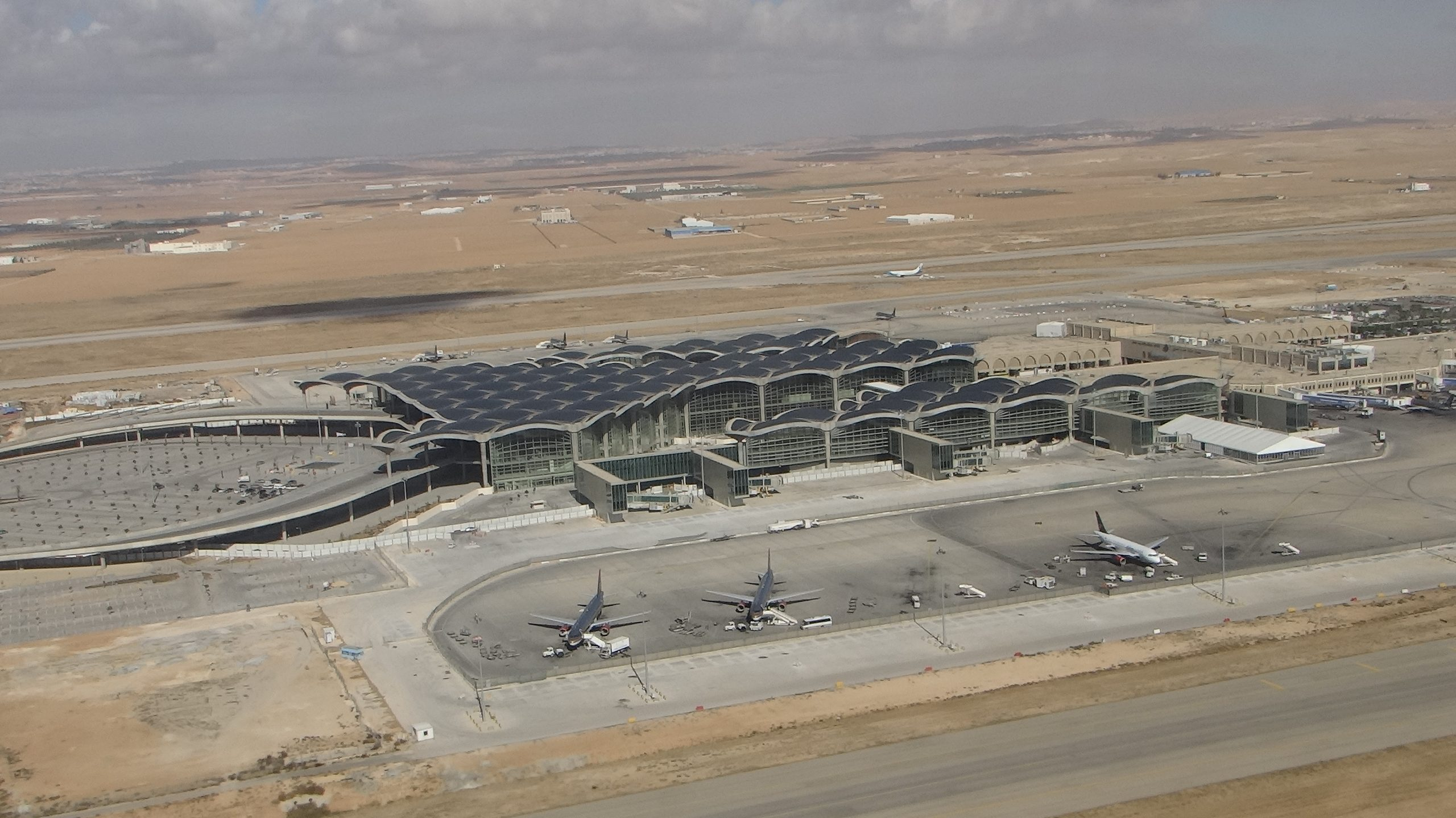 Queen Alia International Airport Security Area Development