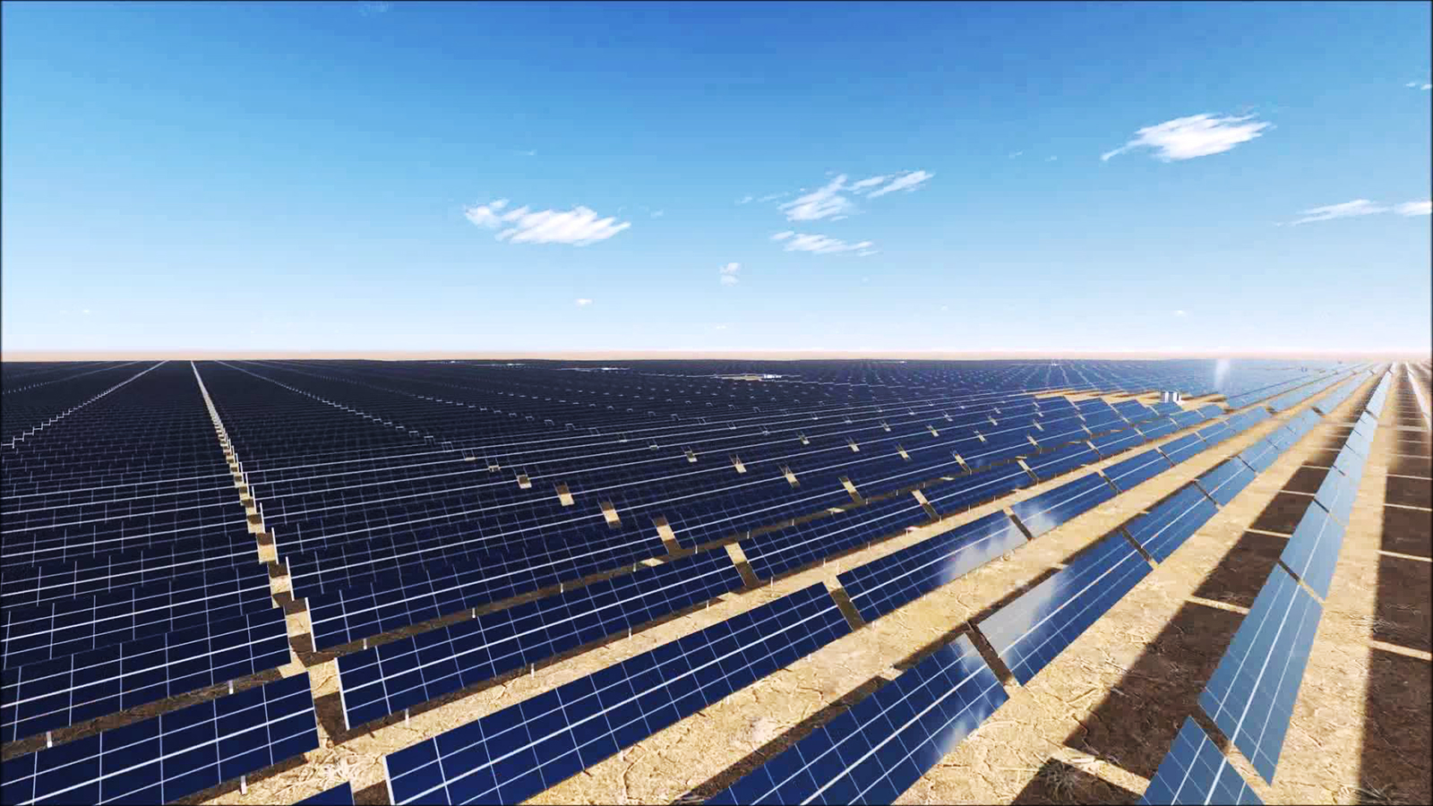 Cabling Route for the  Ma'an Solar Park